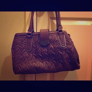 NWOT Simply Vera Wang deep burgundy purse